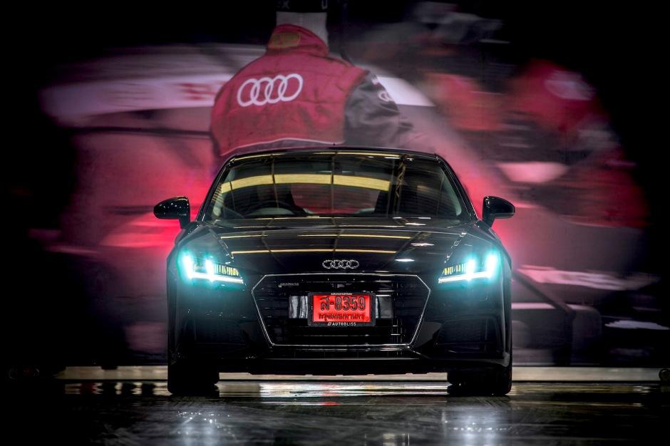 Audi Thailand 2017 TT