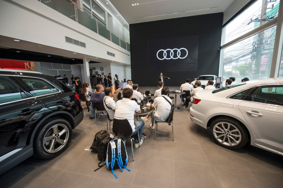 Audi Thailand Showroom New Petchburi